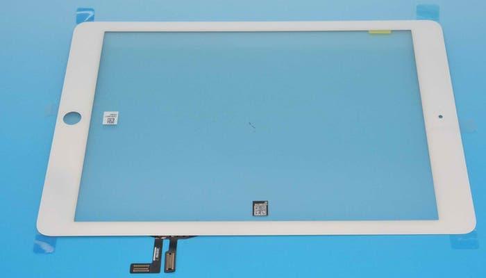 Otra perspectiva del panel frontal del que será el nuevo iPad
