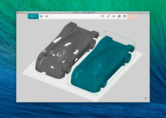 Aplicación para impresoras 3D de Formlabs