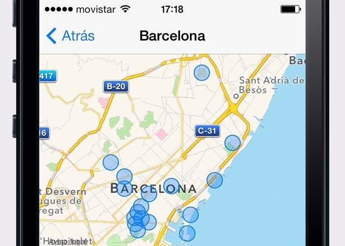 iOS 7 y las ubicaciones frecuentes