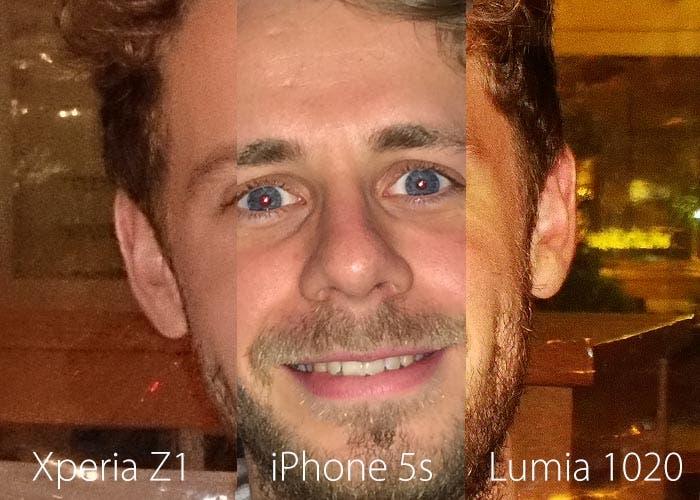 Cámara del iPhone 5s, Nokia Lumia 1020 y Sony Xperia Z1 cara a cara