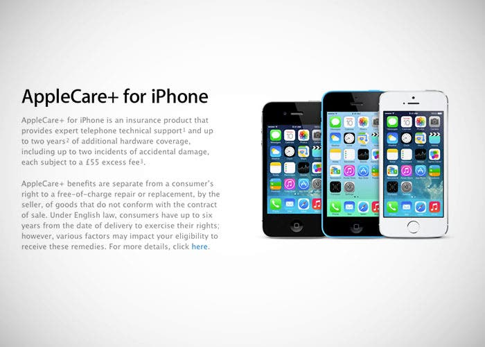 AppleCare+ para iPhone