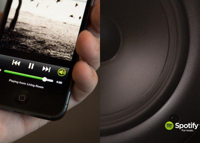 Nuevo servicio de streaming de audio de Spotify