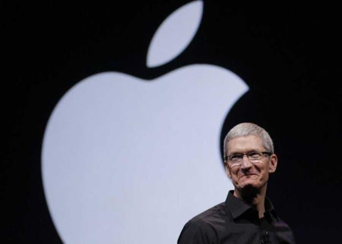 Tim Cook al frente de Apple