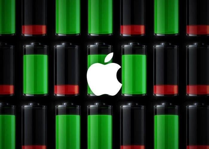 Duración de la batería en el iPhone