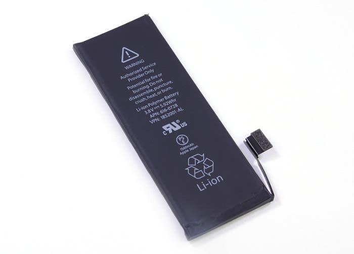 Despiece de la batería del iPhone 5s
