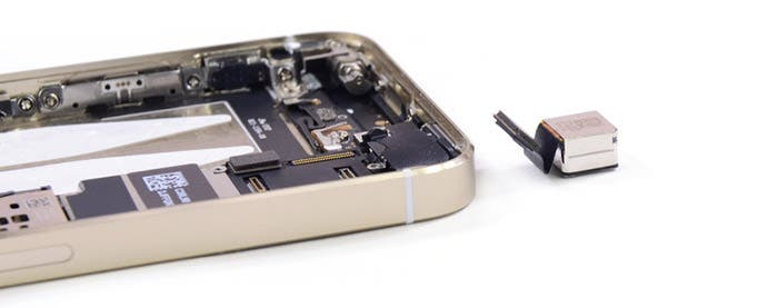 iFixit despiece cámara iPhone 5s