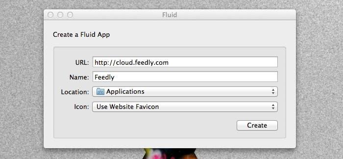 Creando la aplicación con Fluid