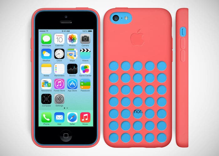 funda-iphone-5c-rojo