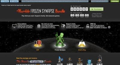 Humble Bundle en su Web