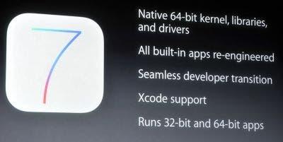 iOS 7 64 bits