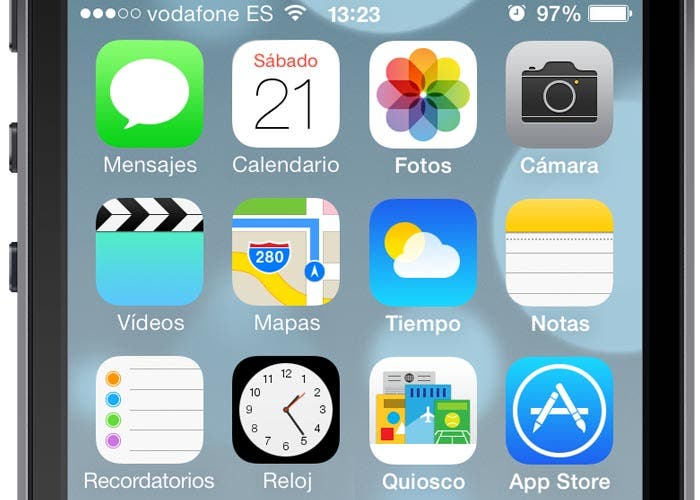 Tipografía bold vs light en iOS 7