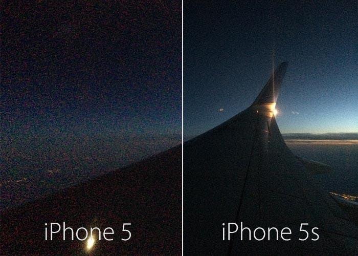 Foto en bajas condiciones de luz