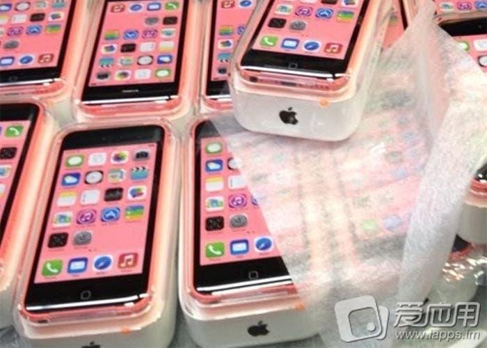 Cajas del nuevo iPhone 5C