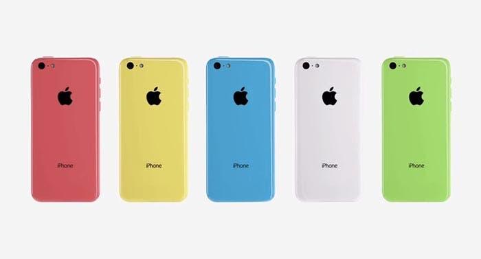 Los colores del iPhone 5c