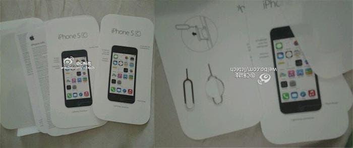Instrucciones del iPhone 5C