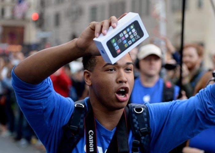 La demanda del iPhone 5s
