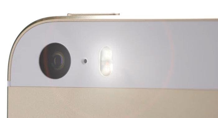 Doble flash LED del iPhone 5s