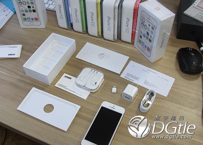 iPhone 5s ya en manos de los primeros clientes