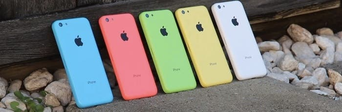 Gama de colores de iPhone 5C