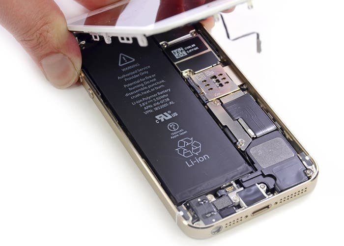 iPhone 5s despiece iFixit