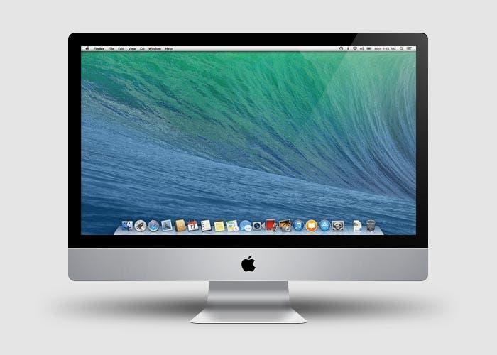 Captura de OS X Mavericks