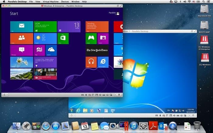 Aplicación de virtualización para Mac