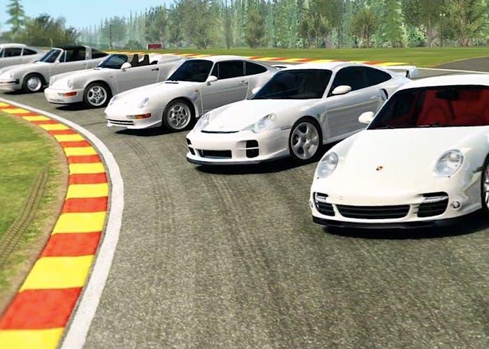Porsche 911 en Real Racing 3