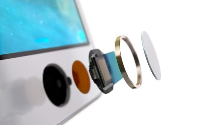 Despiece del Touch ID