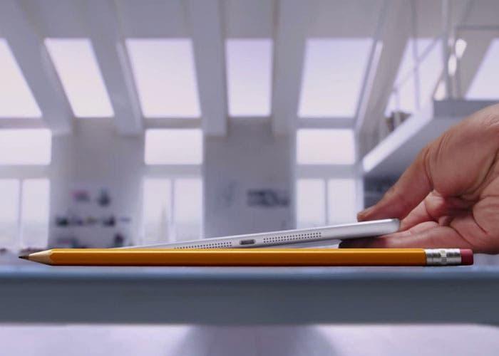 Pencil, primer anuncio del nuevo iPad Air