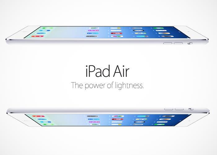 iPad Air lanzamiento
