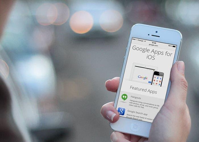 Aplicaciones de Google en iOS