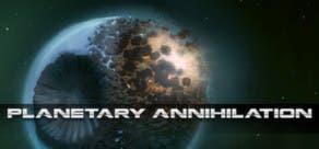 Cabecera del juego Planetary Annihilation de Steam para OS X