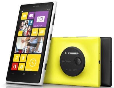 Camara Nokia Lumia 1020