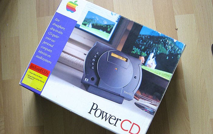 Fotografía del paquete de ventas PowerCD