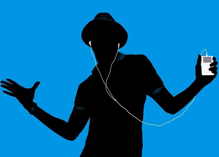 Ilustración iPod iTunes Store
