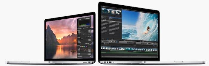 Los nuevos MacBook Pro Retina