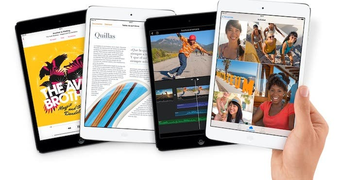 El nuevo iPad mini con pantalla Retina