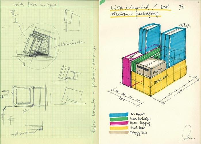 Esquemas de diseño de Harmut Esslinger