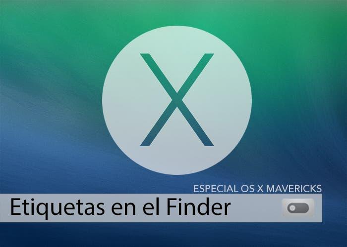 Etiquetas en el Finder en OS X Mavericks