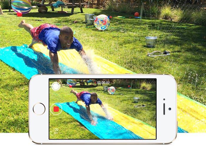 iPhone 5s cámara lenta