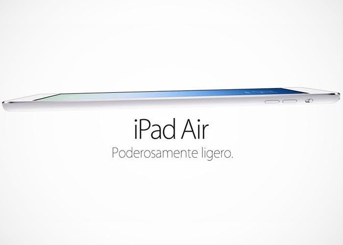 Rendimiento del iPad Air