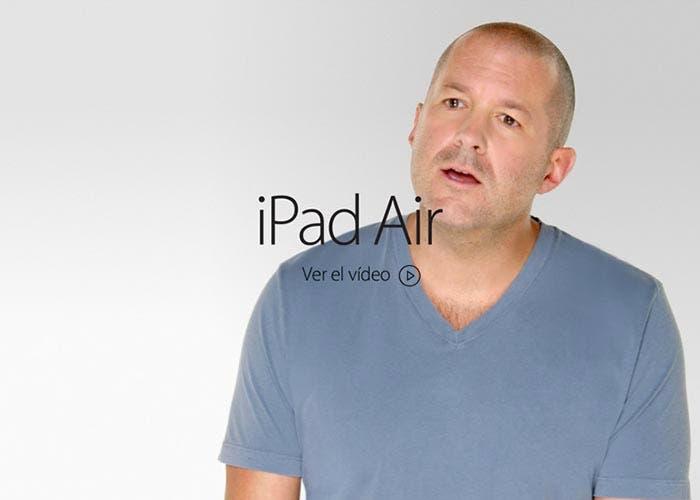 Vídeo de presentación del iPad Air