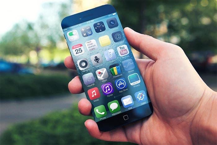 El iPhone 6 en la mano