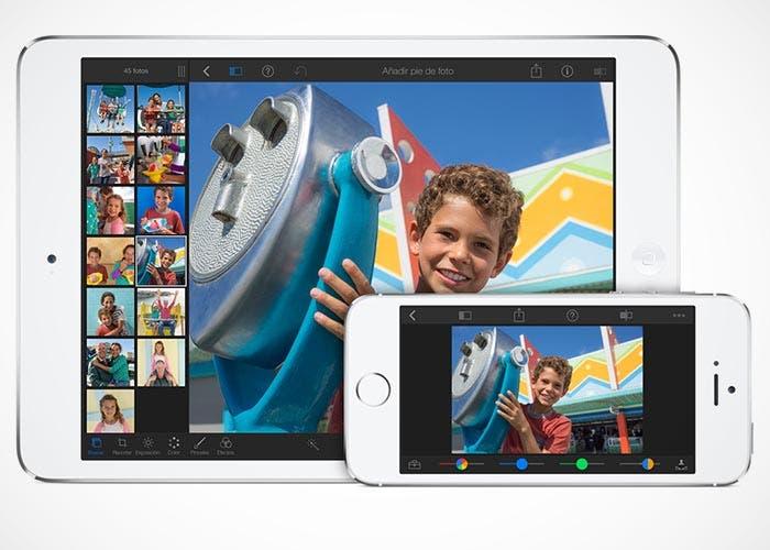 iPhoto en iOS