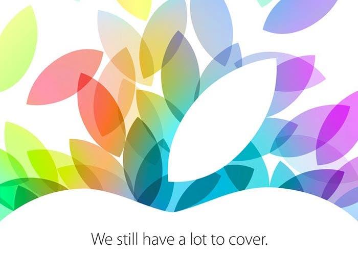 Presentación de Apple de octubre