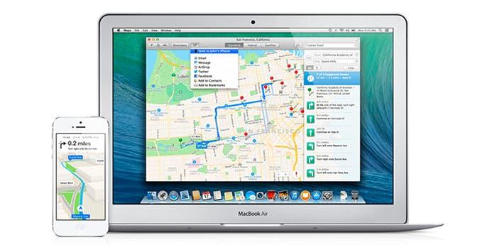 Captura de Mapas en OS X