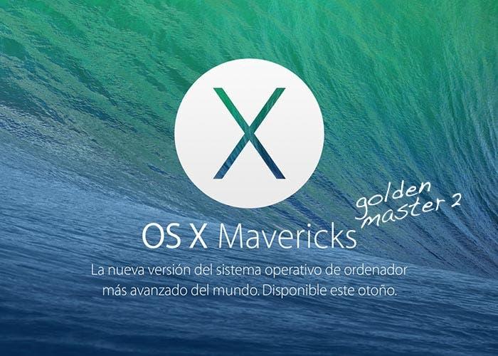 OS X Mavericks Golden Master 2