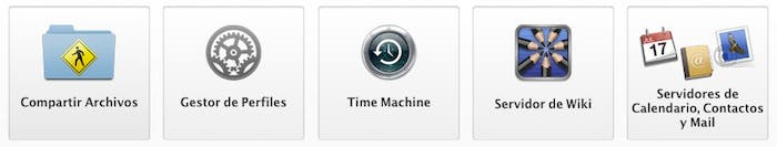 Algunas de las posibilidades de OS X Server