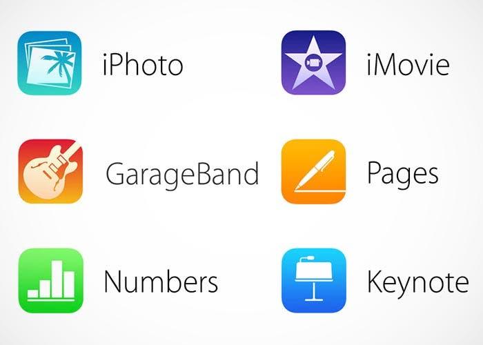Nuevos iconos de iWork y iLife