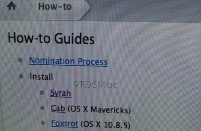 Betas de OS X